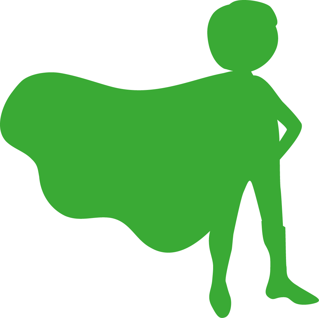 Groene superheld - Sannergy Kindercoaching